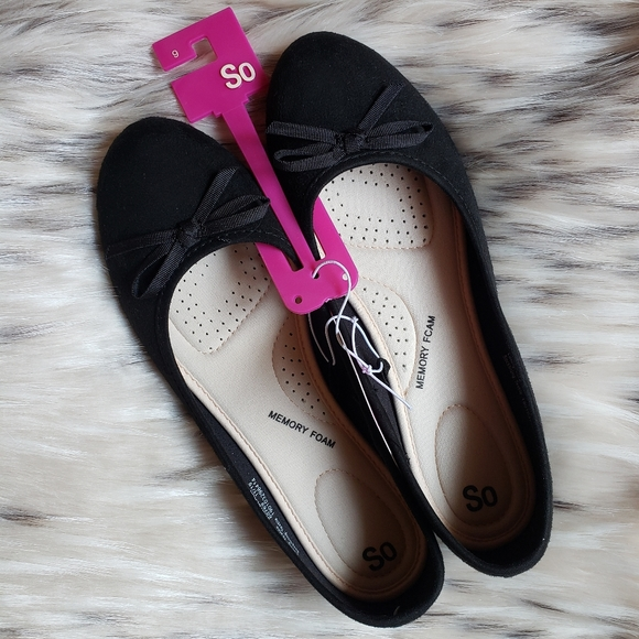 New So Ballet Flats - Size 9